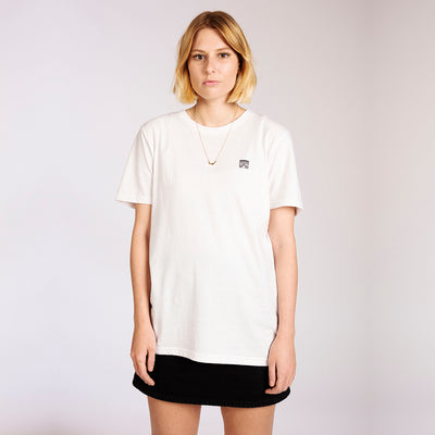 Women's Oversized White Organic Cotton T-Shirt