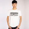 Mens Cariki Miami Tencel T-Shirt White