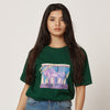 For A Fresher Mind - Womens Green Organic T-Shirt