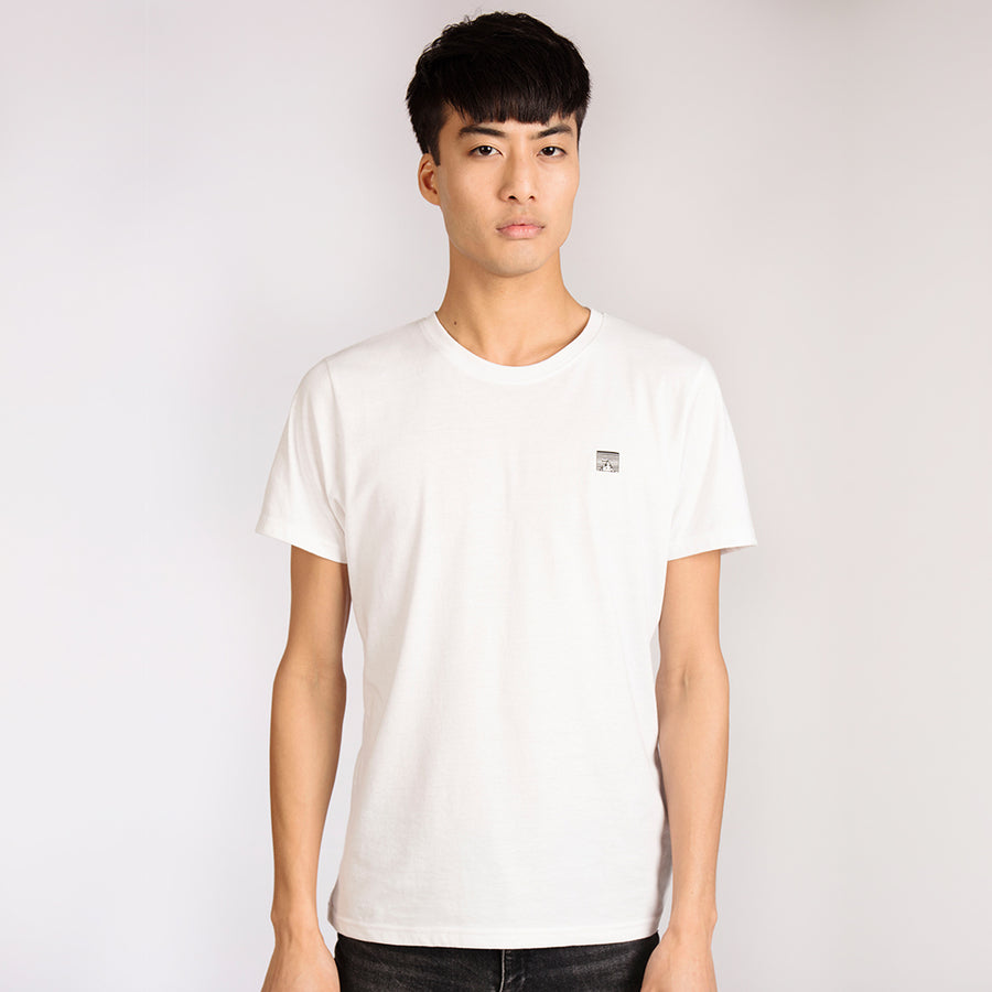Men's White Organic Cotton T-Shirt