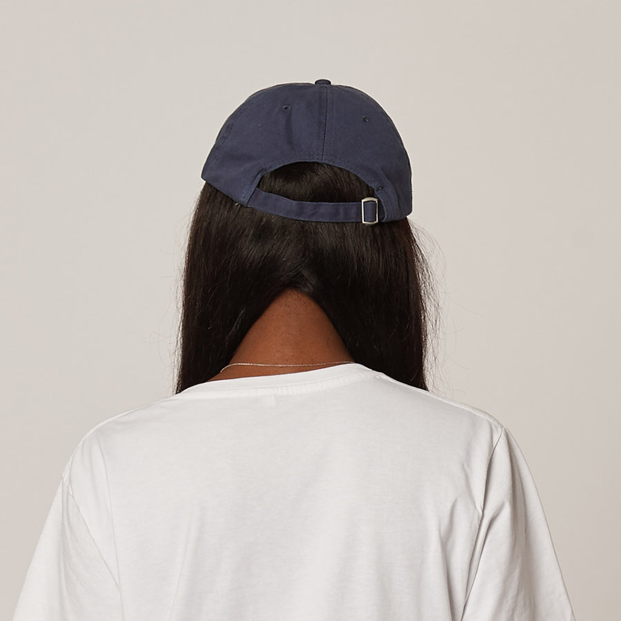 Women's Navy Unstructured Cap
