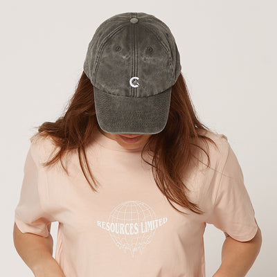 Women's Vintage Black/Grey Cap