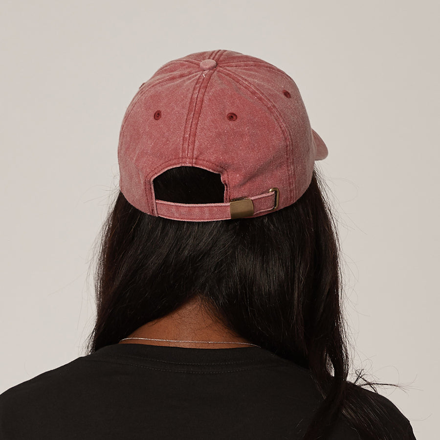 Women's Vintage Red Cap