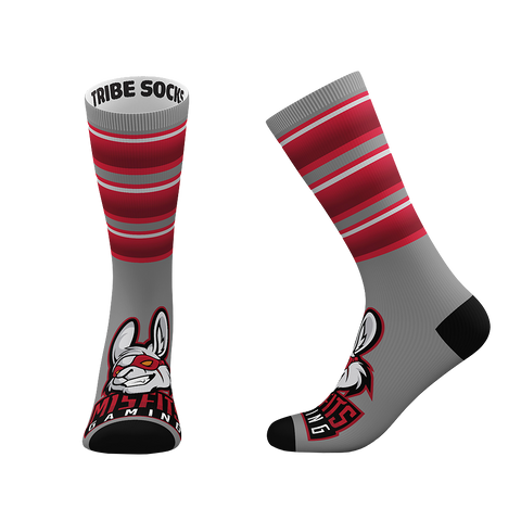 Misfit Gaming Socks - Gray