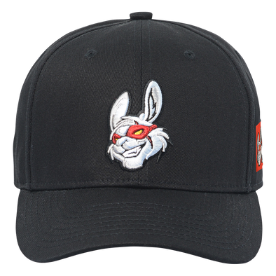 Misfits Gaming Pre-Curved Snapback Hat - Black