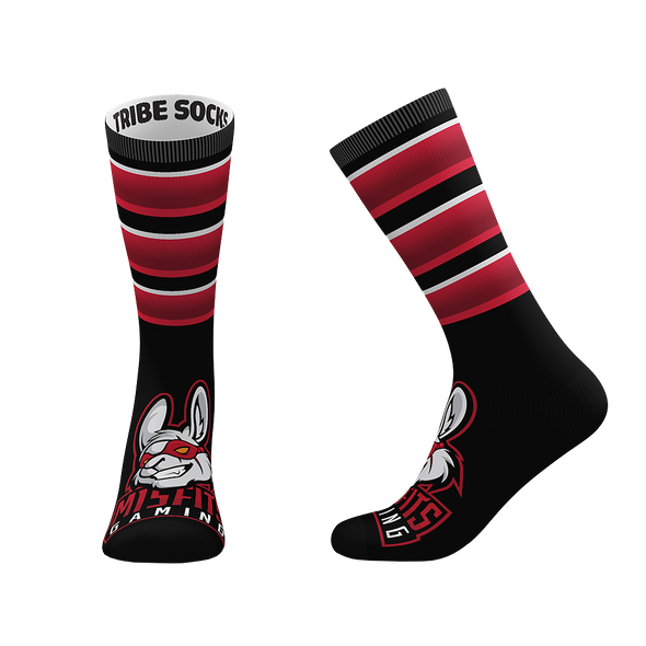 Misfit Gaming Socks - Black