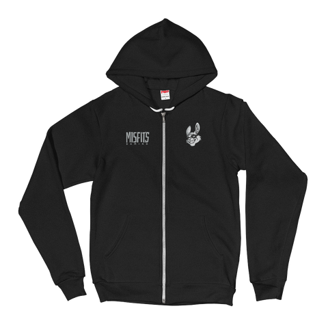 Misfits Classic Zip Hoodie - Misfits Gaming Official Shop