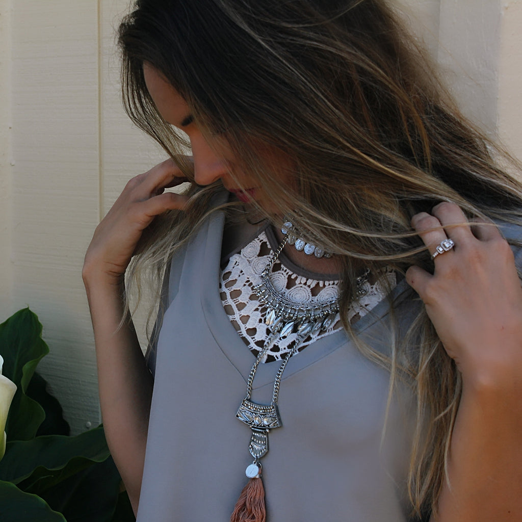 Gypsy Soul Layered Chocker Necklace
