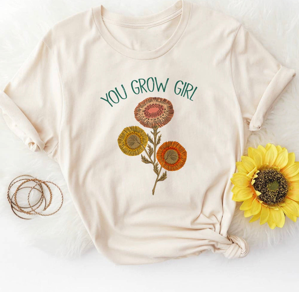 You Grow Girl Graphic Tee (PREORDER)