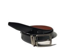 Load image into Gallery viewer, TCW Reversible Leather Belt