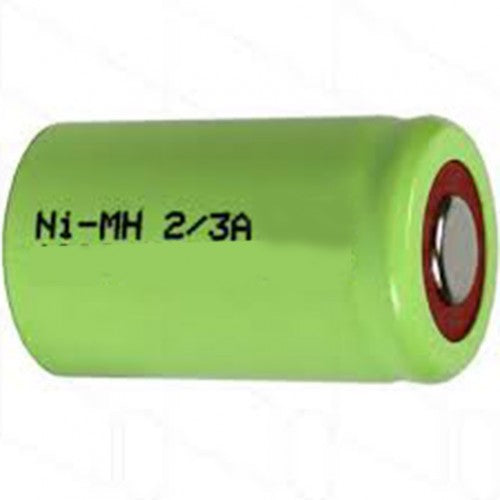 2/3A NiMH 1.2V 1100 mAh Rechargeable Cell - bbmbattery.ca