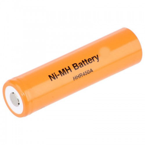 HHR450A FAT-4/3A 4500 mAh NiMh Cell Flat Top Rechargeable Cell - bbmbattery.ca
