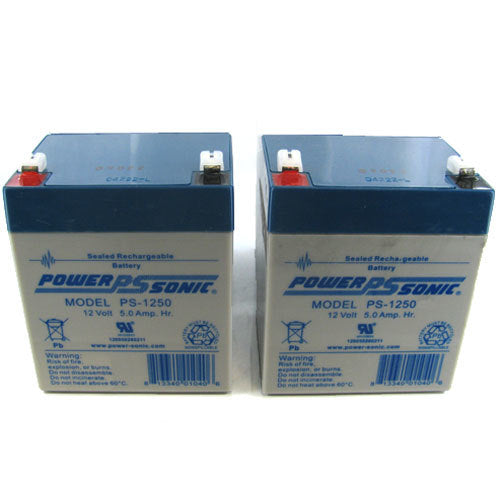 Siemens 6EP4133-0JB00-0AY0 Batteries for UPS System- 24V/5.0AH - set of two