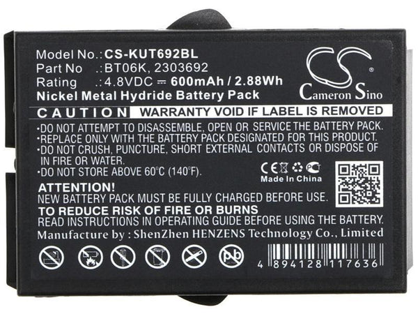 Ikusi BT06K Battery for 230692, T70, TM70, RAD-TF, RAD-TS, ATEX Transmitters
