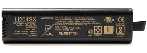 Li204SX, NI2040, NI2040PH Replacement Battery fits Anritsu Analyzers