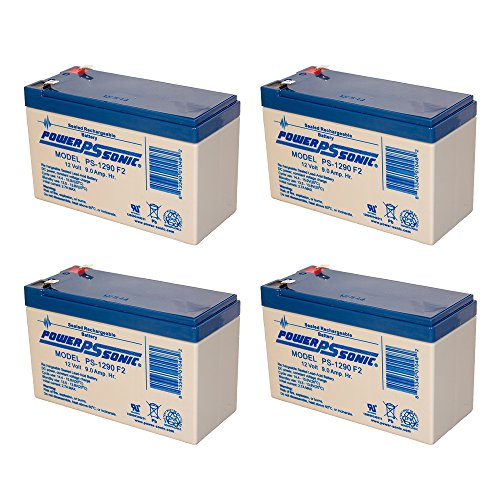 Tripp Lite RBC94-3U - 4 x 12V / 9.0Ah S.L.A. Powersonic UPS Replacement Batteries