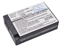 Canon LP-E17 Digital Camera Battery replacement -  CS-CNE170MX - bbmbattery.ca