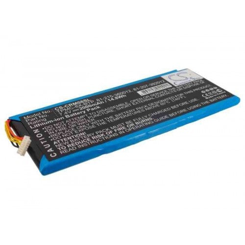 Tpmc-8x Crestron 2000mAh Replacement Battery - bbmbattery.ca
