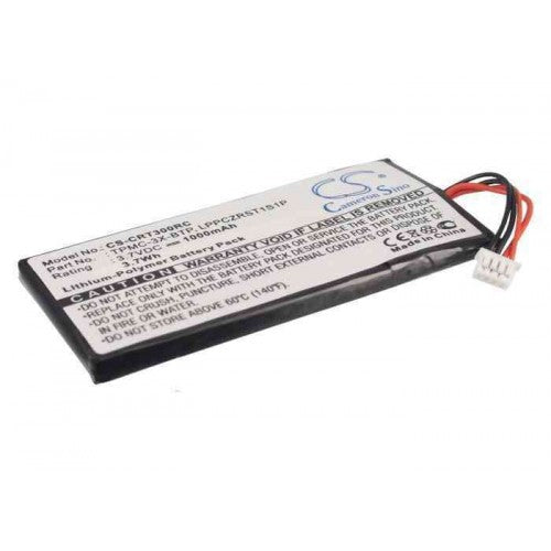 Tpmc-3x Touchpanel Crestron 1000mAh/3.7Wh Replacement Battery - bbmbattery.ca