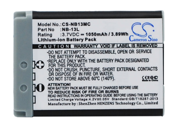 Battery for Canon Powershot G7X G5X G9X G7X MARK 2 SX720HS G7X II,Powershot - bbmbattery.ca