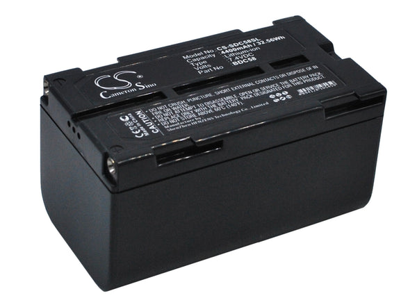 Replacement Battery for Sokkia BDC58, BDC70, BDC46, BDC58 Total Station and many more...