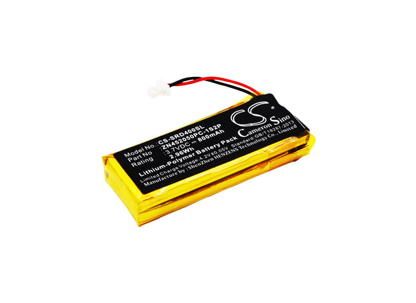 Cardo BAT00002, BAT00004, WW452050-2P, ZN452050PC-1S2P Battery for Scala Rider Motorcycle Headset