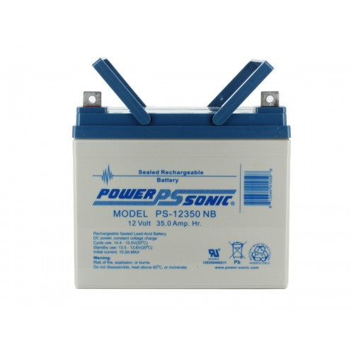 POWER-SONIC PS-12350 SEALED LEAD ACID BATTERY - bbmbattery.ca