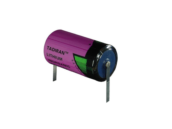 Tadiran TL-5920T, TL-5920/T  Lithium C Cell With Solder Tabs