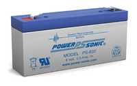 Powersonic PS-630 Sealed Lead Acid Battery