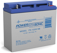 Powersonic PS-12200 Sealed Lead Acid Battery