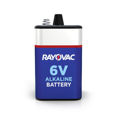 Rayovac 808C Lantern Battery with Spring Terminals