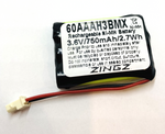 GE TL26401, GP 60AAAH3BMX, 35AAAK3BMX Replacement Battery for Cordless Phones