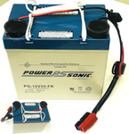 Powersonic Styleview SV21 Sealed Lead Acid Battery , 12v/55Ah