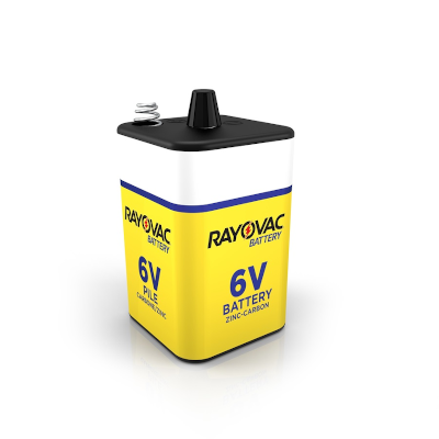 Rayovac  944C Lantern Battery with Spring Terminals