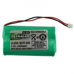 Panasonic HHR-P509 Battery replacement for cordless phone