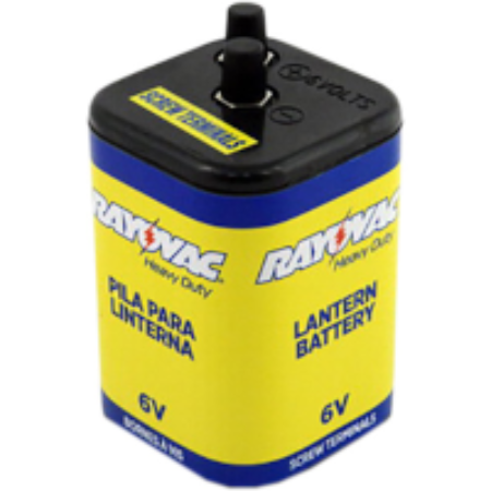 Rayovac 945R4C Lantern Battery with Screw Terminals