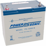 Power-Sonic  PS-12550B Sealed Lead Acid Battery