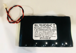 WALYNX-RCHB-HC Battery Replacement - part # GP130AAM6BMX, 300-03864-1, LPK500-4B