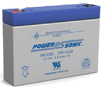 Powersonic PS-1228 Sealed Lead Acid Battery