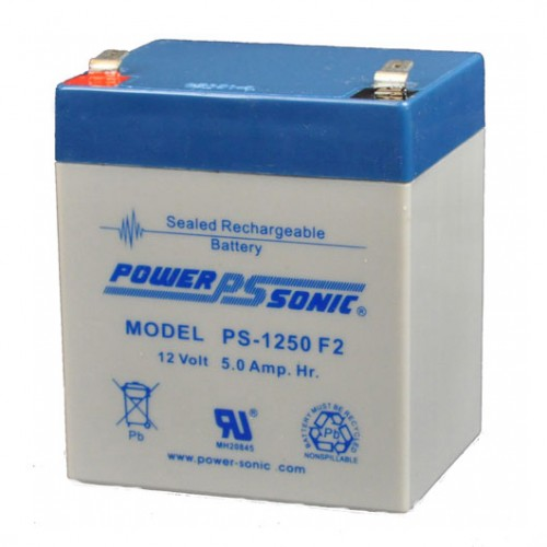 POWER-SONIC PS-1250-F2 SEALED LEAD ACID BATTERY - bbmbattery.ca