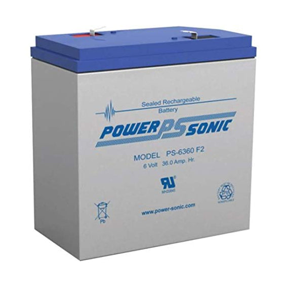 Power-Sonic PS-6360 Sealed Lead Acid Battery