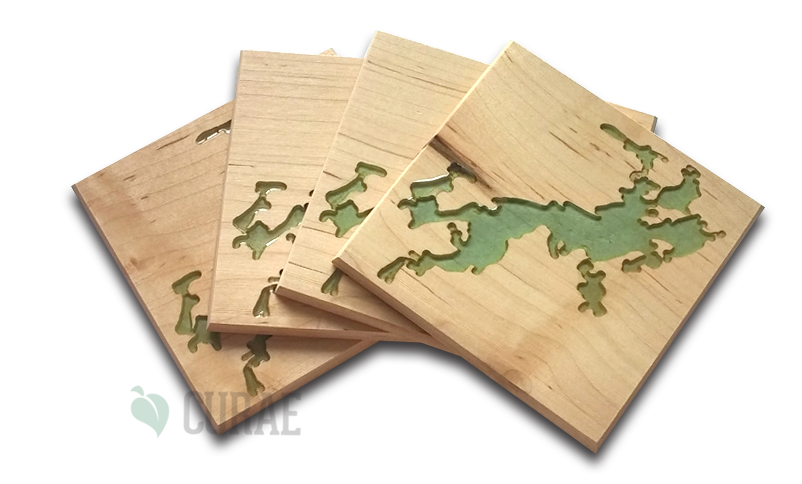 Otty Lake 1 Coaster Set - Curae