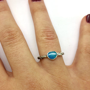 Opal Stacking Duo Rings