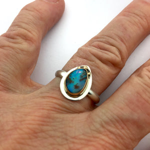 Opal Rings, Koroit Opalized Wood Rings