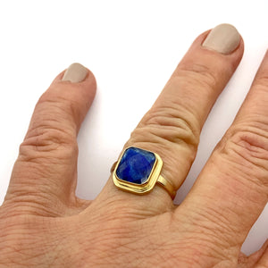 14k Gold Gemstone Rings, Ruby Ring, Sapphire Ring, Aquamarine Ring