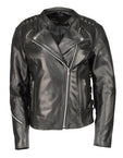 Womens Motorcycle Leather Armored Jackets