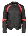 Womens Motorcycle Textile & Mesh Armored Jackets
