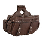 Milwaukee Leather Brown Luggage