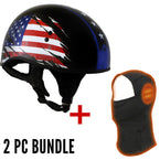 Helmet and Heated Milwaukee Leather Balaclava Bundles