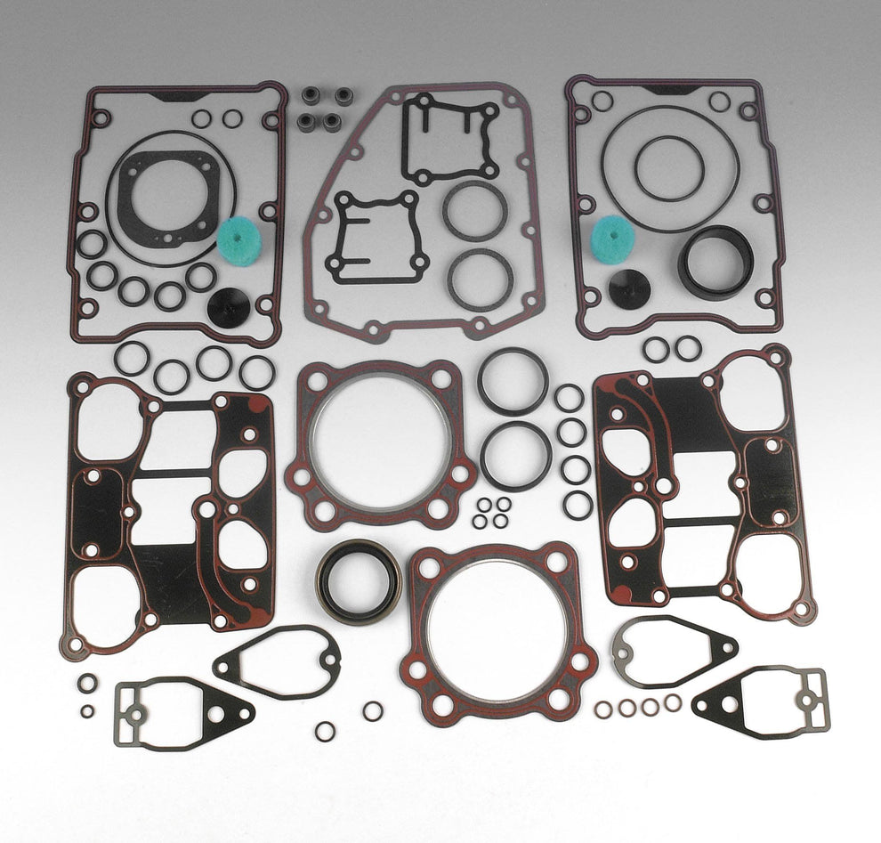 James Gaskets Complete Gasket Kit with 0.036in. Head Gaskets for Harley Davidson 1999-2004 Twin Cam 95